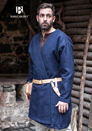 Grey by Burgschneider Medieval Vikings Flap Skirt Loki Wool// Larp
