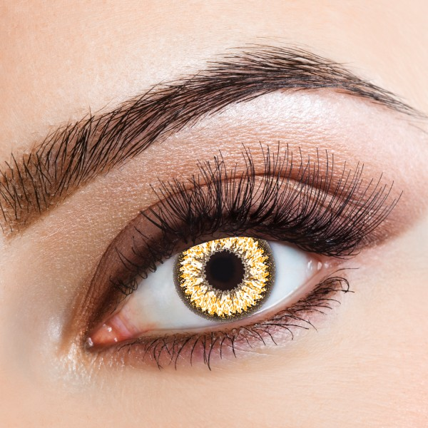 How to put makeup on brown eyes